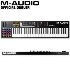 d9c52b957 M-Audio Code 61 (Black) 61-Key USB MIDI Keyboard Controller with