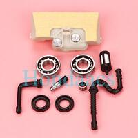 Air fuel Filter Crankshaft Bearing oil seals For Stihl 029 039 MS290 MS310 MS390