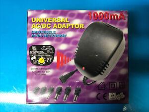 Universal AC/DC Adaptor 1000mA