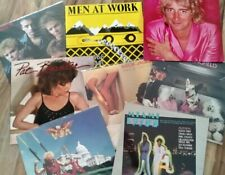 U Pick Any 4 / $10 Lot Vinyl Records Rock, Pop 70's and 80's All Great Artists!