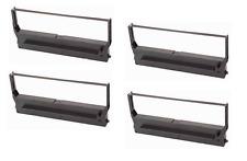 4x Farbband  Gruppe für Fujitsu 9000 8770 -NYLON- schwarz 13 mm
