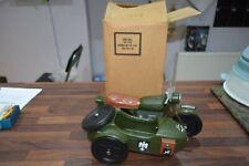 Vintage Action Man German motorbike Motorcycle sidecar mint mailer boxed gi joe