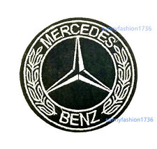 Sport Car Auto Motor Embroidered Logo Badge Sew Iron On Patch for Mercedes Benz