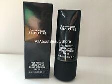 MAC Prep+Prime FACE PROTECT LOTION SPF 50 Broad Spectrum 30 ml / 1 oz NIB Full
