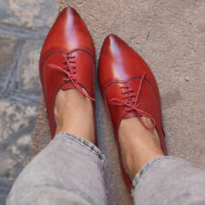 519fbe109d4d6 Lace-Ups Women's Oxfords Pointed Toe for sale | eBay