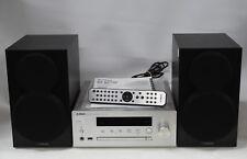 Yamaha CRX-N470 Micro Hi-Fi System CD Player & Speakers - Radio/Bluetooth/WiFi