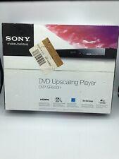 Sony DVP-SR500H DVD Upscaling Player Ultra Slim New in Box.
