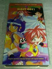 Knights of Ramune - Vol. 1: Blast Off! (VHS, 1999, English Subtitled, Anime)