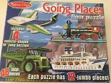Melissa and Doug Going Places Floor Puzzle - 48 Pieces