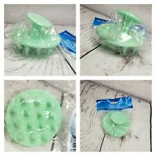 Silicone Scalp Shampoo Massage Brush Lime Green Shower Head Hair Comb