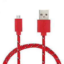 STRONG BRAIDED MICRO USB CABLE DATA CABLE FOR HTC A9 10 GOLD  WILDFIRE G8 S