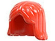LEGO Minifig Female Hair Red Bob Creator Modular City Town Castle Friends NEW