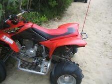 ATV Honda 400 EX Stripe Red and Black ATV Seat Cover #hcs826c819