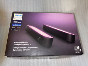 Philips Hue Play 7820330U7 White and Color Ambiance LED Bar Light 2 Pack