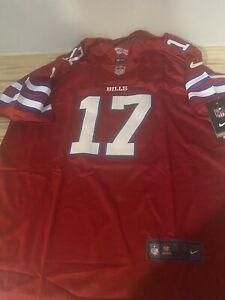 NWT- Men's Josh Allen Red Jersey Small & Medium Sizes Avail Buffalo Bills Star!!