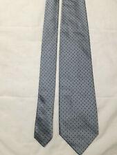 Stefano Ricci cravatta vintage colore celeste fantasia 100% seta made Italy