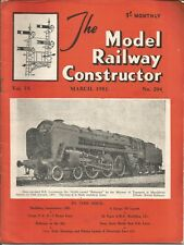 MODEL RAILWAY CONSTRUCTOR MAGAZINE - MARCH 1951