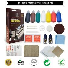 25 Pieces Repair Leather Vinyl Kit Car No Heat Fast Drying Fix Any Color