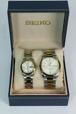 Seiko 5 Automatic 7S26 Men and Ladies Watch Set
