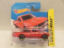 2013 Hot Wheels Mattel Datsun 620 Red Truck 139/250 Die-Cast Metal Short Card