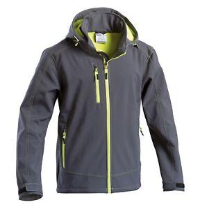 Giubbotto giaccone giacca uomo cappuccio giubotto giubbino invernale da lavoro