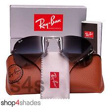 Ray Ban Semi Sin Montura Aviador Gafas De Sol De Plata _ Gradient Gris 3449 003 8G 59mm