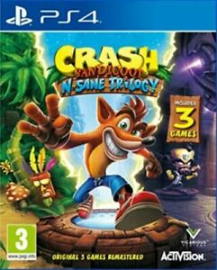 Crash Bandicoot N.Sane Trilogy (Playstation 4 PS4) Great Condition