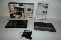 """Acer Iconia W500 Tablet AMD C-50 1.5GHz 32GB SSD 2GB 10.1"""" 1.3MP Webcam Keyboard"""