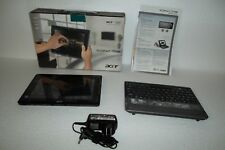 "Acer Iconia W500 Tablet AMD C-50 1.5GHz 32GB SSD 2GB 10.1"" 1.3MP Webcam Keyboard"