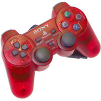 Sony PlayStation 2 Dualshock2 Controller Crimson Red SCPH-10010 Japan Import PS2