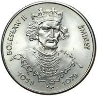Gedenkmünze Polen - 50 Zlotych 1981 - BOLESLAW SMIALY 1058-1079 Stempelglanz UNC