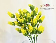 "12"" Hops Yellow Green Bush Artificial Plant Faux Fake Beer Wedding Greenery"