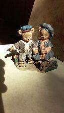 Berry Hill Bears Spring Adventure figurine