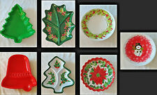 Lot of 40 Christmas Serving Trays - Several Different Designs