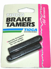 Tioga Brake Tamers Black Brake Lever Grips NEW!