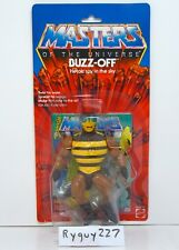 MOTU, Buzz-Off, Clear, Masters of the Universe, MOC, carded, sealed, He Man