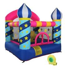 Inflatable Bounce House Castle Jump Jumper Stars Inflatable Bouncer w/ Blower US