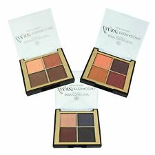 Nude Eyeshadow Quad Palette Neutral Earthy Shades Matte Shimmer Body Collection