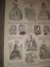 Spring Fashions 1849 prints ref AZ