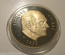 1995 MÉDAILLE JACQUES CHIRAC PRESIDENT
