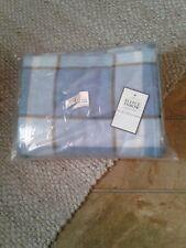 Home Classics Fleece Throw 46inx56in Blue Plaid