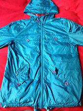 Pringle 1815 Men jacket with hood Sky Blue scottish tartan lining size Small
