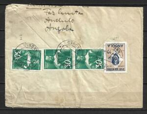 Angola, Portugal - 1953 Cover t/ Germany - VF !!!!!  (A3917)