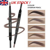 HANDAIYA Brow 5 Color Eyebrow Pencil Chalk Pen Rotatable Lasting Make up UK NY