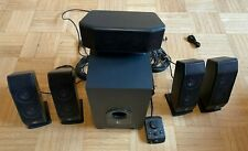 Logitech X-540 5.1 Surround Sound Lautsprecher System mit Subwoofer