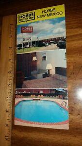 Postcard Panoramic Hobbs Motor Inn Hobbs New Mexico Unposted