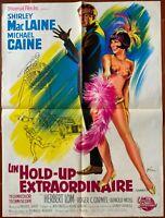 Plakat Un Heist Extraordinaire Gambit Michael Caine Shirley Maclaine 60x80cm