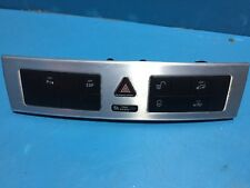 2007 MERCEDES BENZ C-CLASS W203 COUPE HAZZARD SWITCH PANEL A2038700151