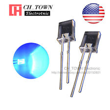 100pcs 2x5x7mm Water Clear Blue Light Rectangle Rectangular Square Led Diodes