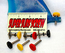 """Stand Up Paddle SUP & Surfboard Fin Screw System by """"Super Surf Screw"""""""